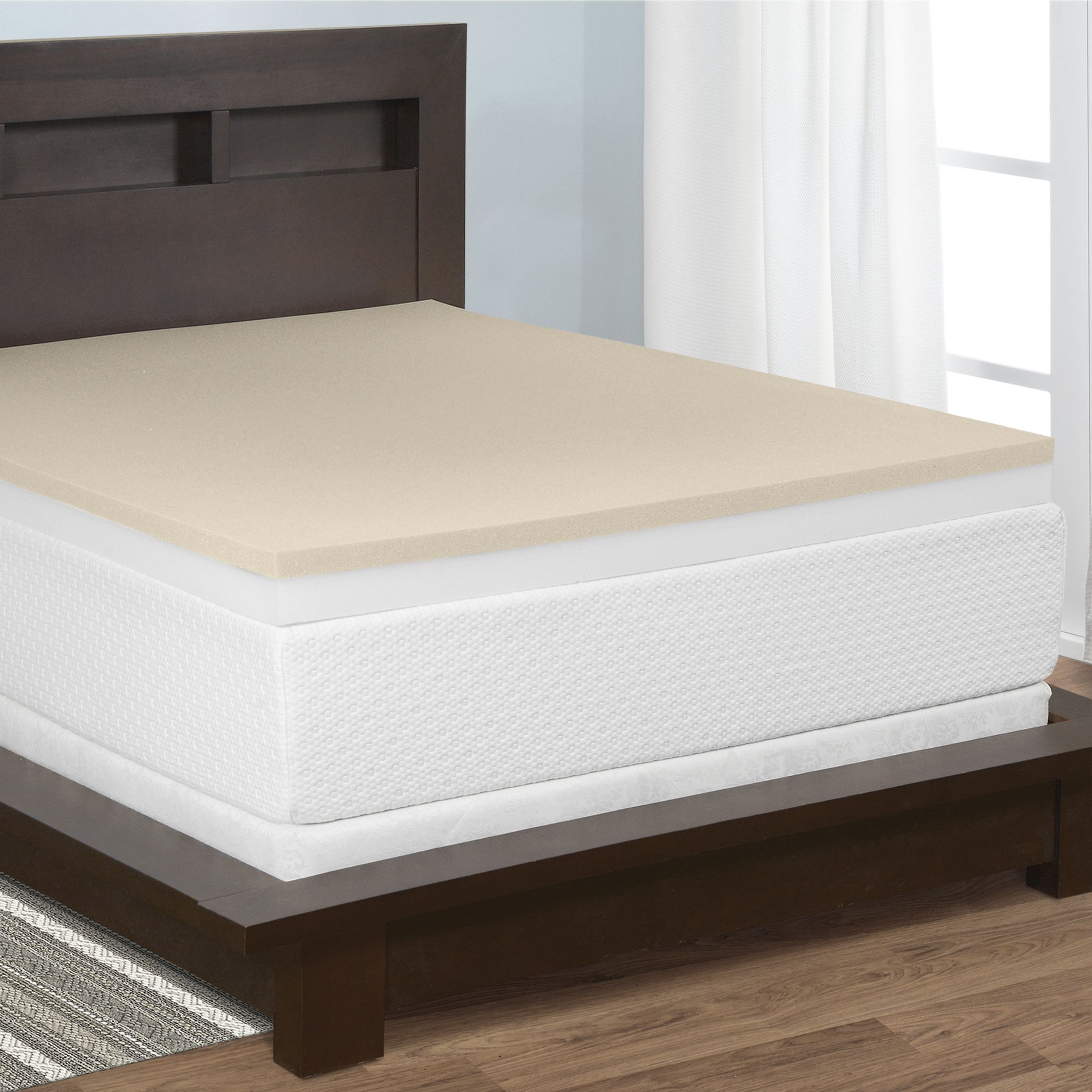 luxury restore foam select mattress pin a and topper memory inch