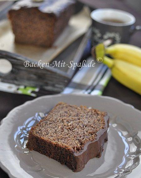 #Schokokuchen #Kuchen #Bananenkuchen #Bananen #Rührkuchen #Margarine #ALSAN #Weinsteinbackpulver #Dinkelmehl #Kakao #Rohrohrzucker