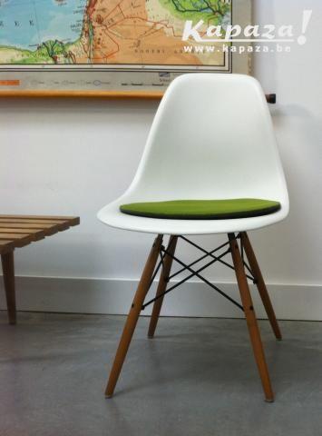 EAMES VITRA Plastic Chair DSW, Stoelen, Ledeberg | Kapaza.be