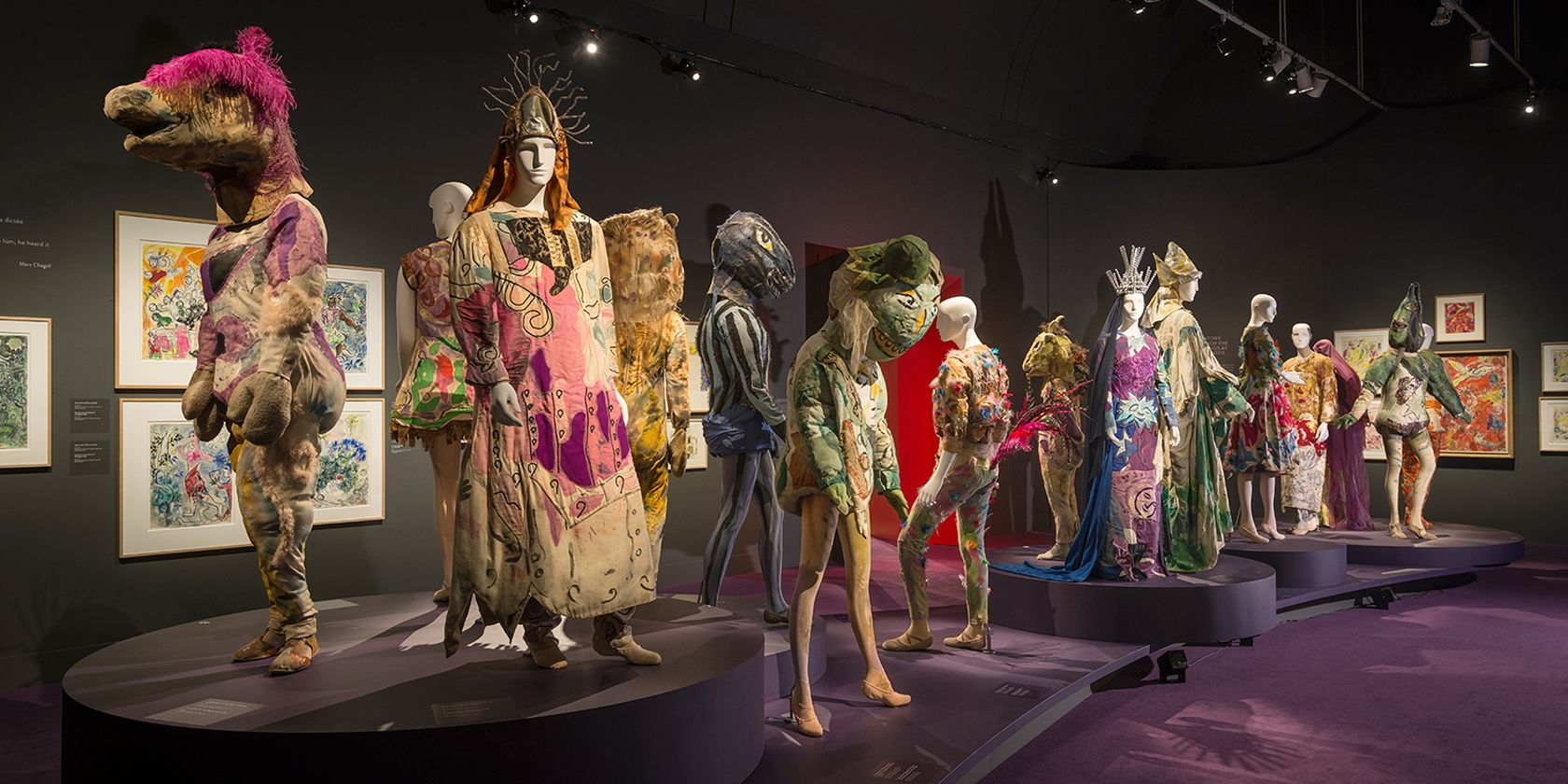 Chagall : Couleur et musique - Musée des beaux-arts de Montréal
