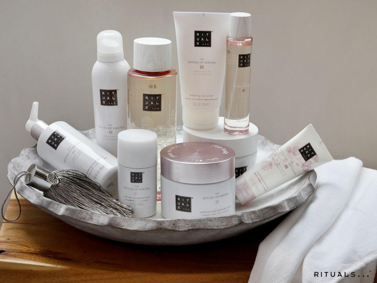 the ritual of sakura @ritualscosmetics #cosmetics #love #rituals, Badezimmer ideen