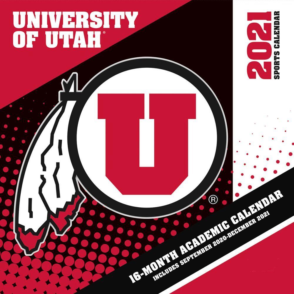 2021 Utah Utes Calendars Prove You Are A Passionate Utah Utes Fan With This 12 X 12 Academic Wall Calendar This Calendar Feature In 2020 Utah Utes Wall Calendar Utah