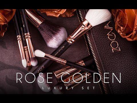 new luxury makeup brushes zoeva  youtube  great detai