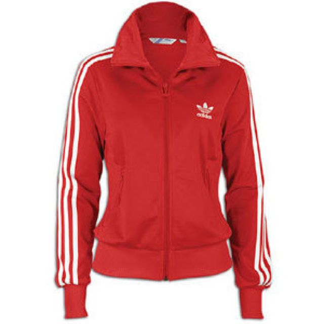 1c9a0f2c66a2 ADIDAS ORIGINAL FIREBIRD RED TRACK JACKET (WOMEN) on The Hunt