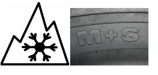 What Is A Winter Tire Is It One With A Mountain Snowflake Symbol