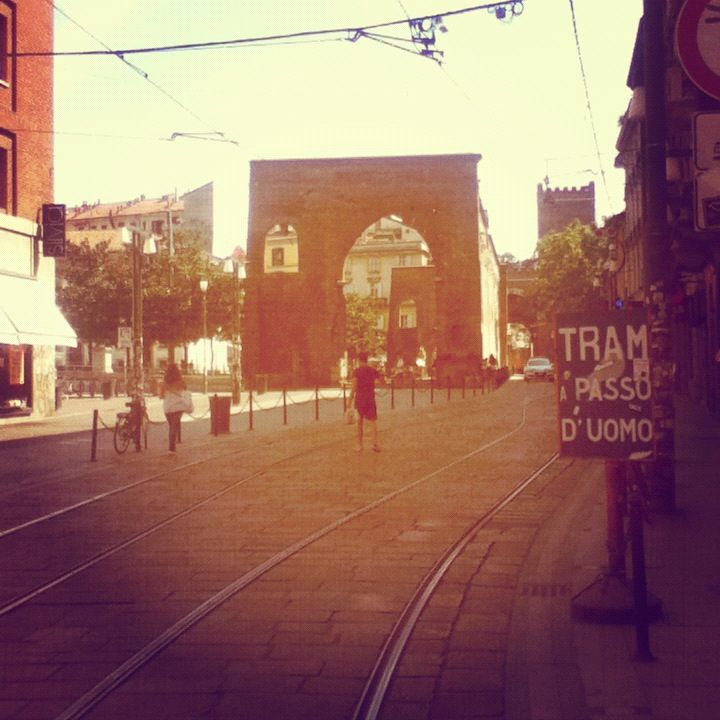 Corso Ticinese - Colonne di S. Lorenzo  #Milan #Places #love #Ticinese #Instagram #filter #summer #hot