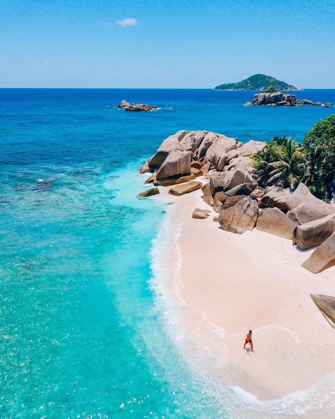 Desert Island Beach: Now Discovering Cocos Island Seychelles With @andredemello