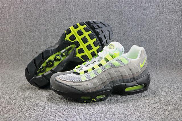 online store 2edf6 e481c Top Mens Nike Air Max 95 OG NEON 554970-071 JL