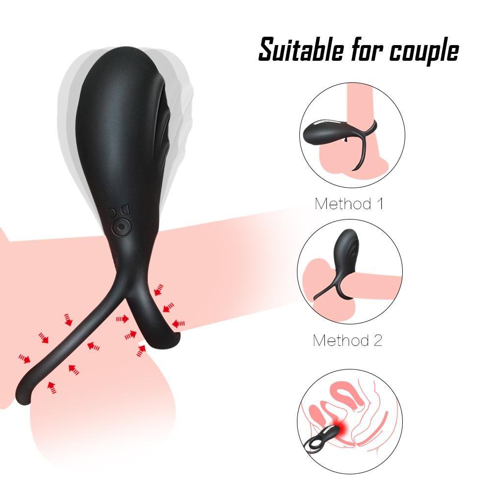 Super Stretch Bump Stimulator Sleeve In Pink Cock Rings Pink