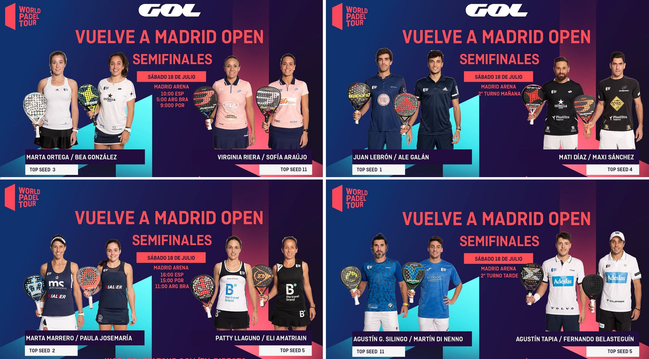 Semifinales Wpt Vuelve A Madrid Padelstar Padel Valencia Youtube