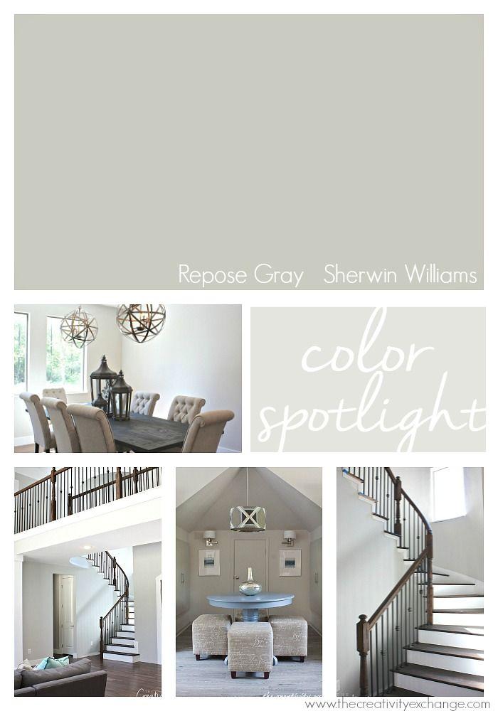 Garden Centre: Repose Gray From Sherwin Williams: Color Spotlight