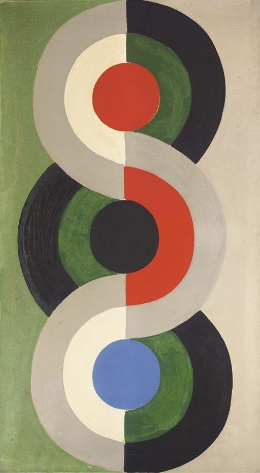 ART DECO STYLE 101 | Sonia delaunay, Robert delaunay and Artwork