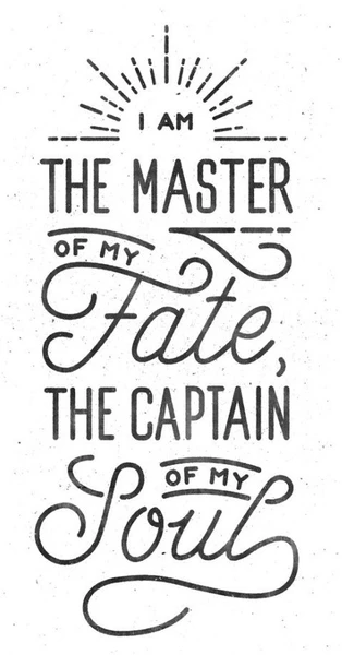 Top 10: Stunning INVICTUS poem typography posters for sale (2021)