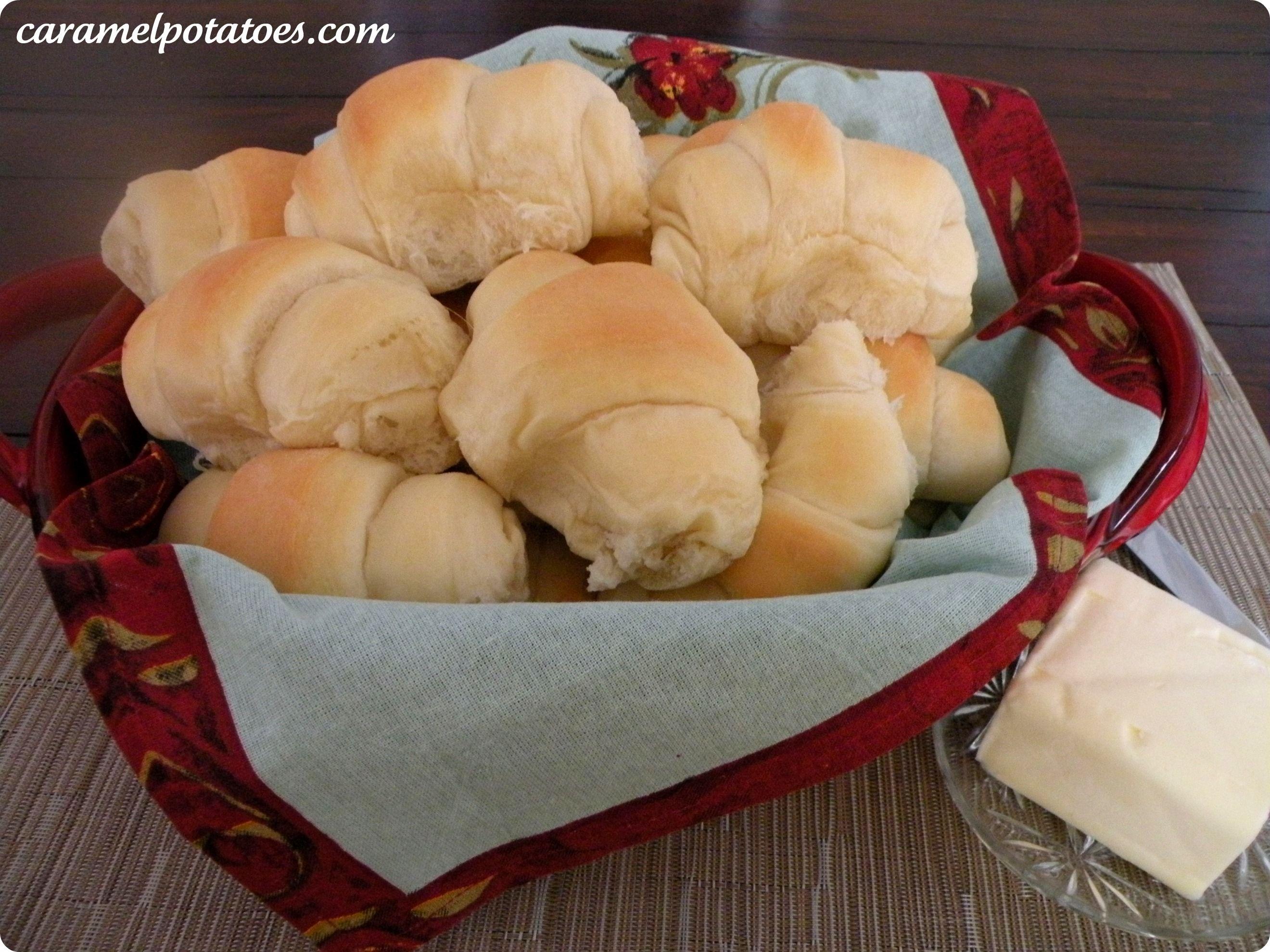 Buttermilk Rolls Homemade Rolls Food Recipes