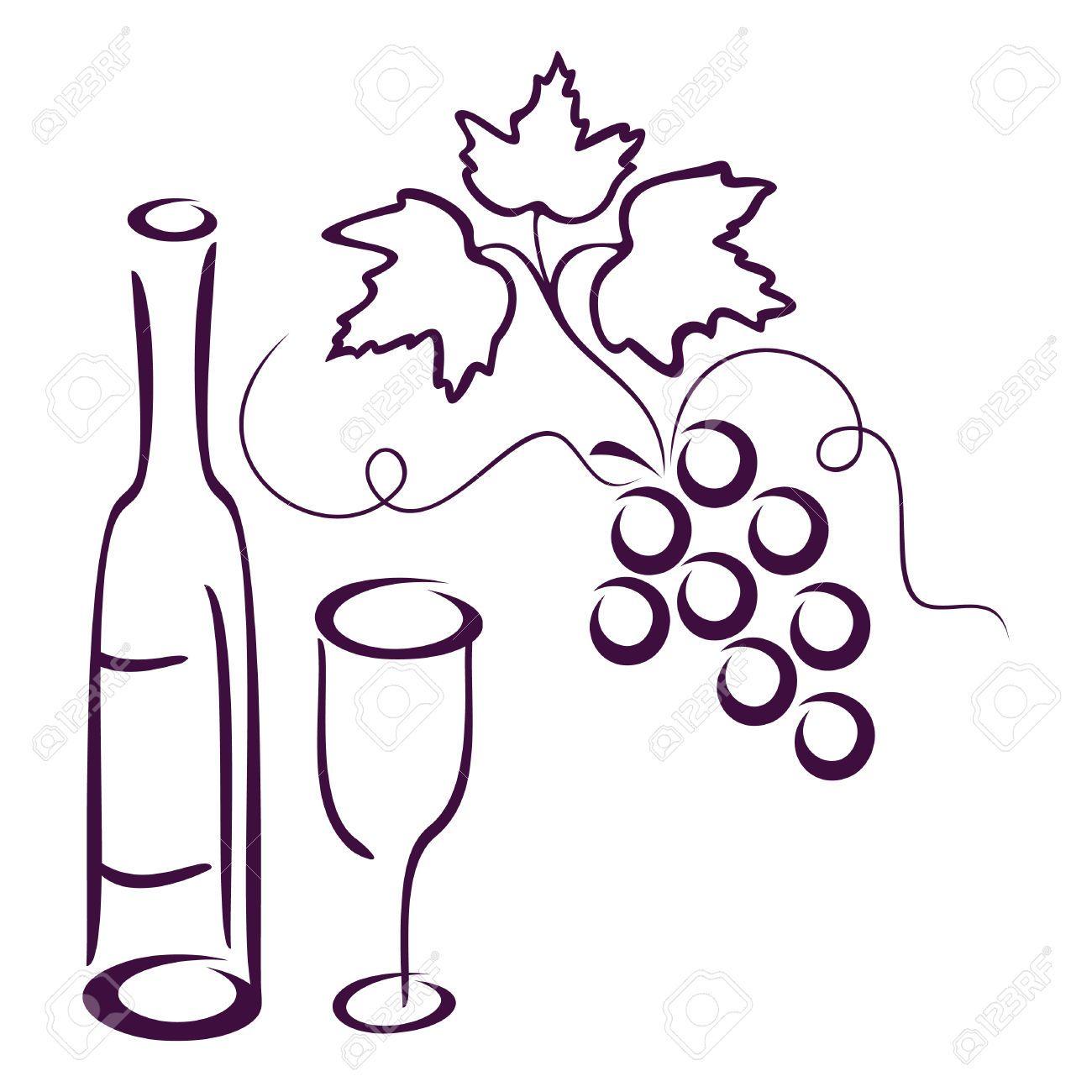 Wine Logo , Clip Art, Art Icon