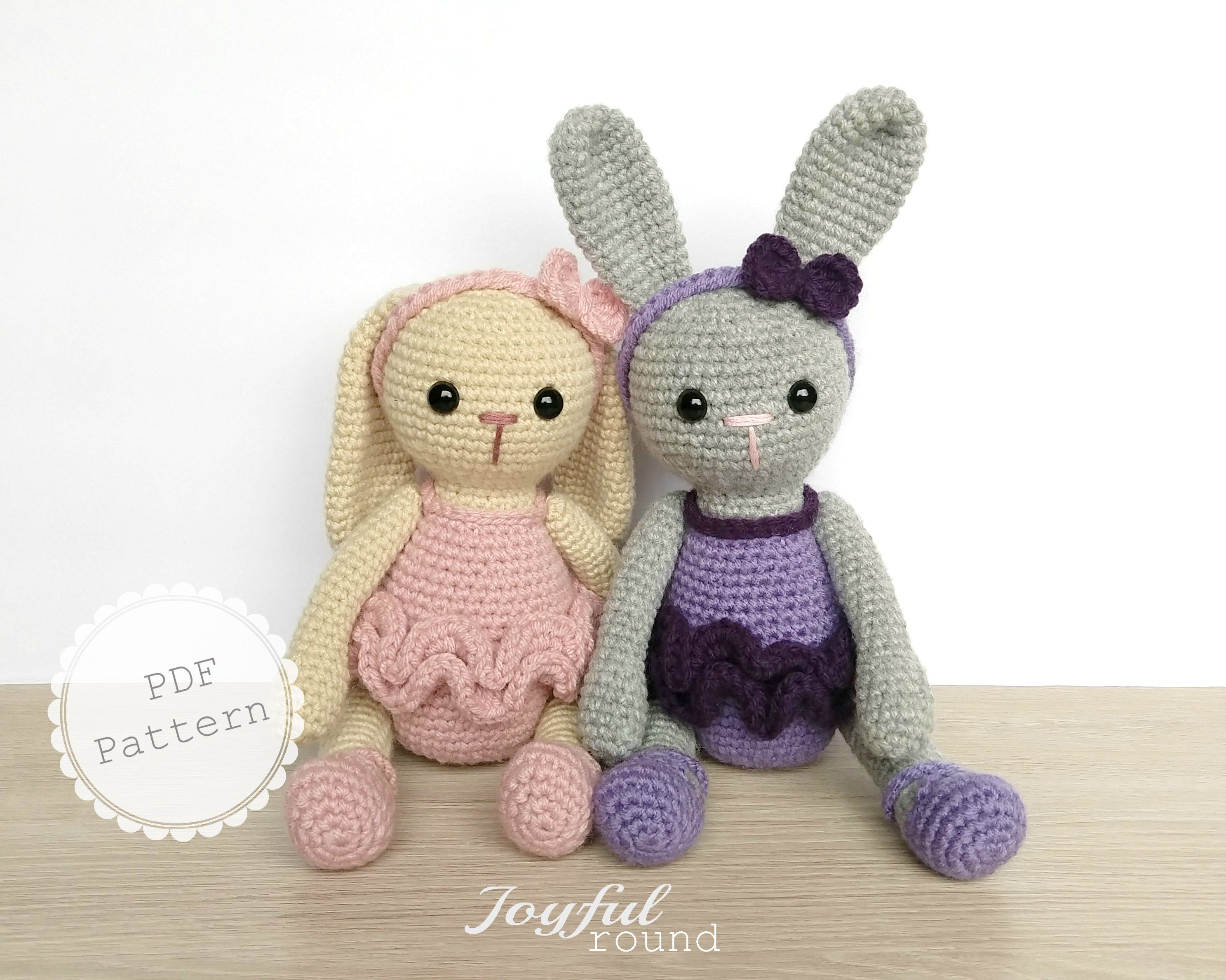 Elephants In Love | Free Crochet Pattern | Hooked by Kati | 2379x2974