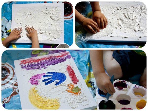 Texture pittura su tela.