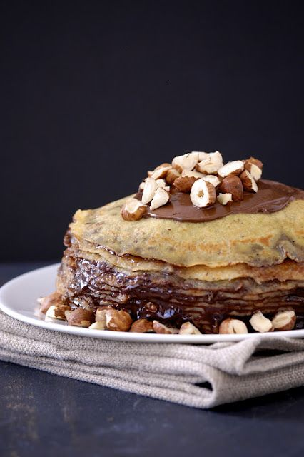 Gluten-Free Ratio Rally: Nutella Crepe Cake | Community Post: 45 Life Changing Nutella Recipes