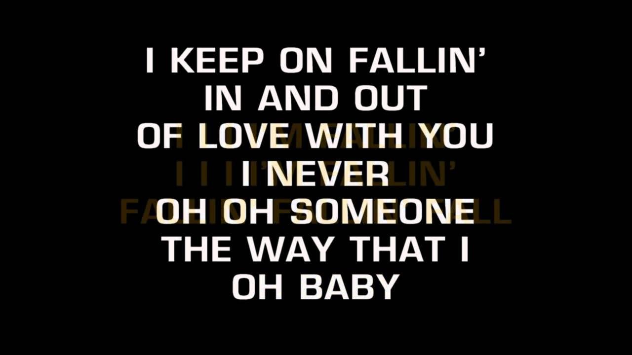 Fallin'-Alicia Keys-Karaoke | Karaoke songs | Alicia keys