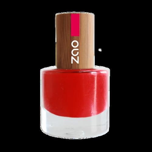 Zao Nail Polish Nail polish, Organic makeup, Water based