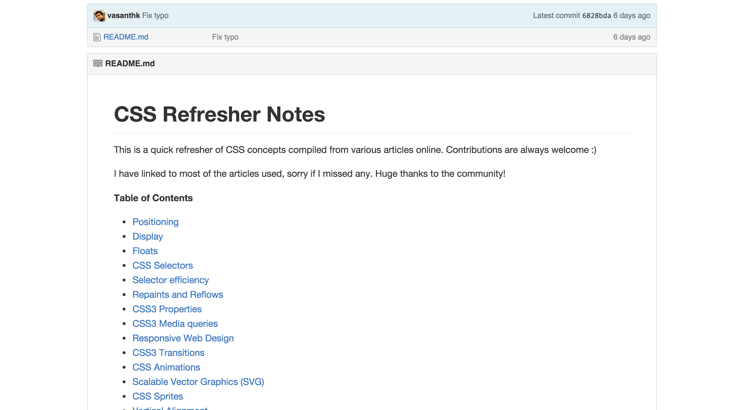 Css Refresher Notes Useful Notes On Basic Css Principles And Styles Css Refreshing Notes