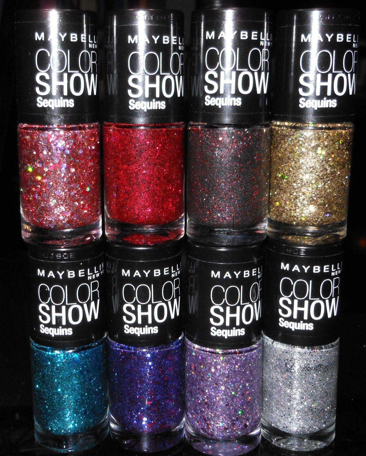 Maybelline Color Show Sequins | manicures | Pinterest | Diseños de ...