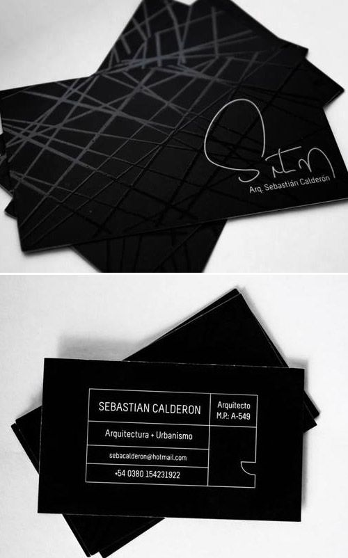 30 Business Card Designs for Architects Part 2