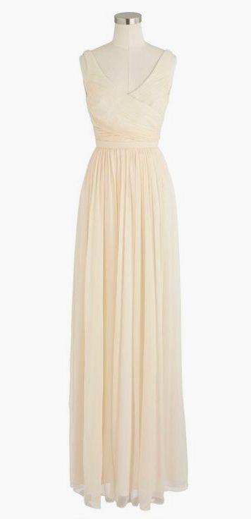 6ddf0807f19 Heidi long dress in silk chiffon
