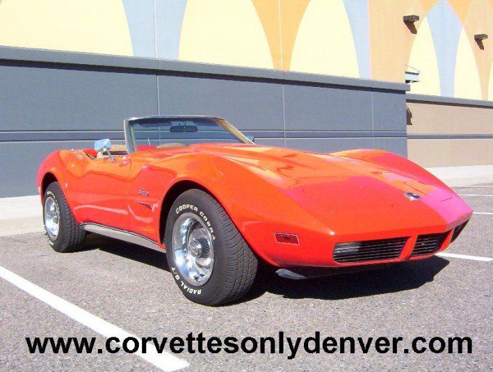 1974 Chevrolet Corvette 15900 00 Usd 1974 Corvette Convertible Mille Migila Red Exterior Saddle Leather Int Corvette Corvette Convertible Corvette For Sale