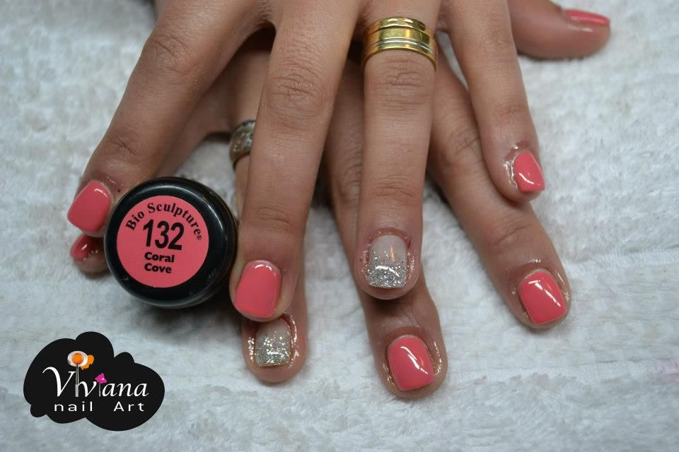 Sparkling Coral Bio Sculpture Gel Bio Sculpture Gel
