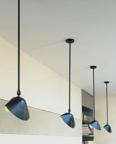 Libary Ceiling Lamp Serge Mouille