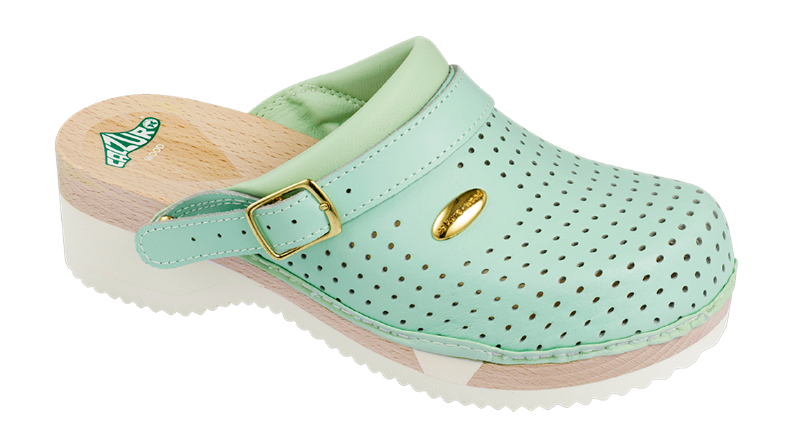 stile alla moda prodotti caldi cerca l'originale Light green | Calzuro Wood - Klompen