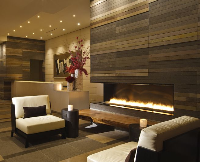The Art of Fireplaces. MS: Love the detail. Integrates with ...
