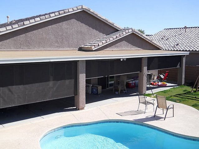 Large Heavy Duty Outdoor Solar Shades, Perfect For Your #pool #patio  #pegonia