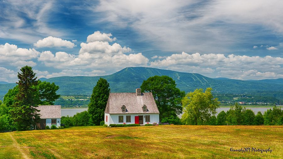Old Farmhouse, Ile d'Orleans, Quebec, by Wendy Kennedy