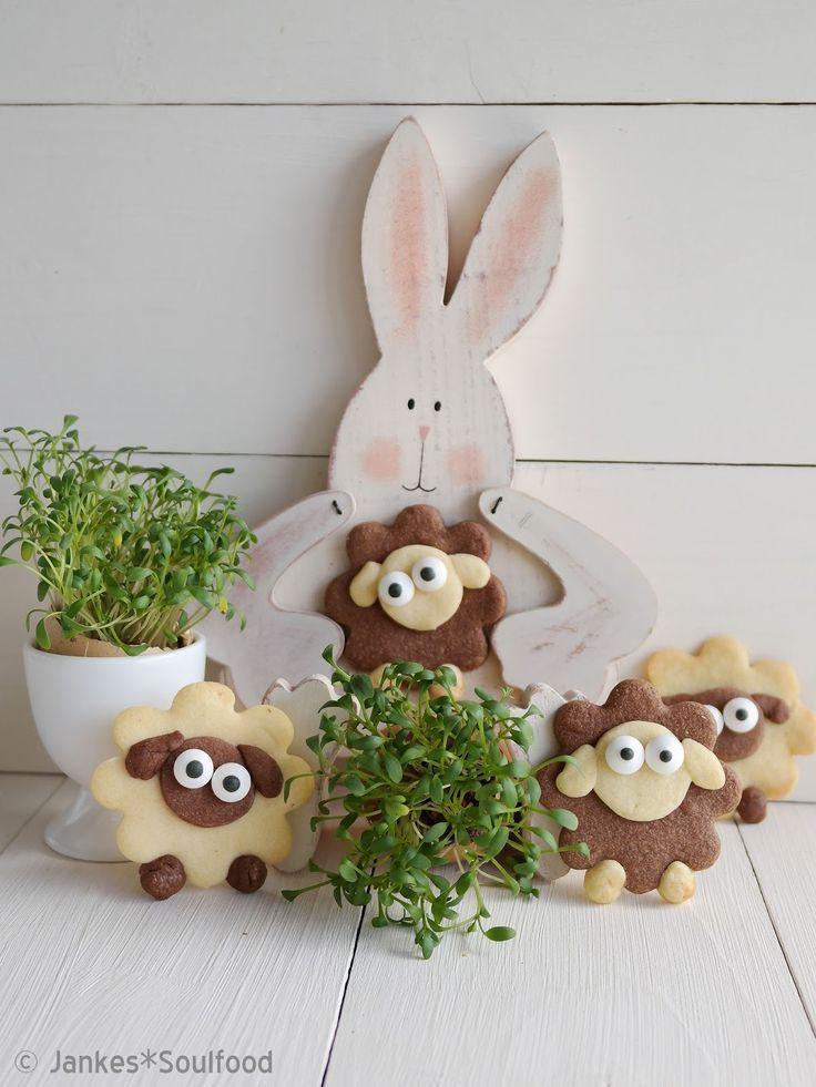 Lustige Osterplätzchen