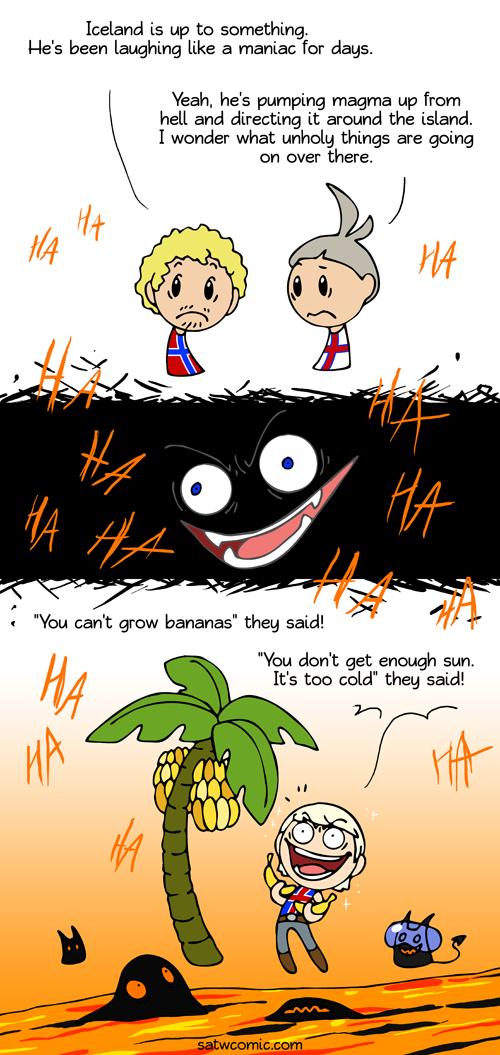 Never Say Never Scandinavia And The World Satw Comic Country Jokes Scandinavia