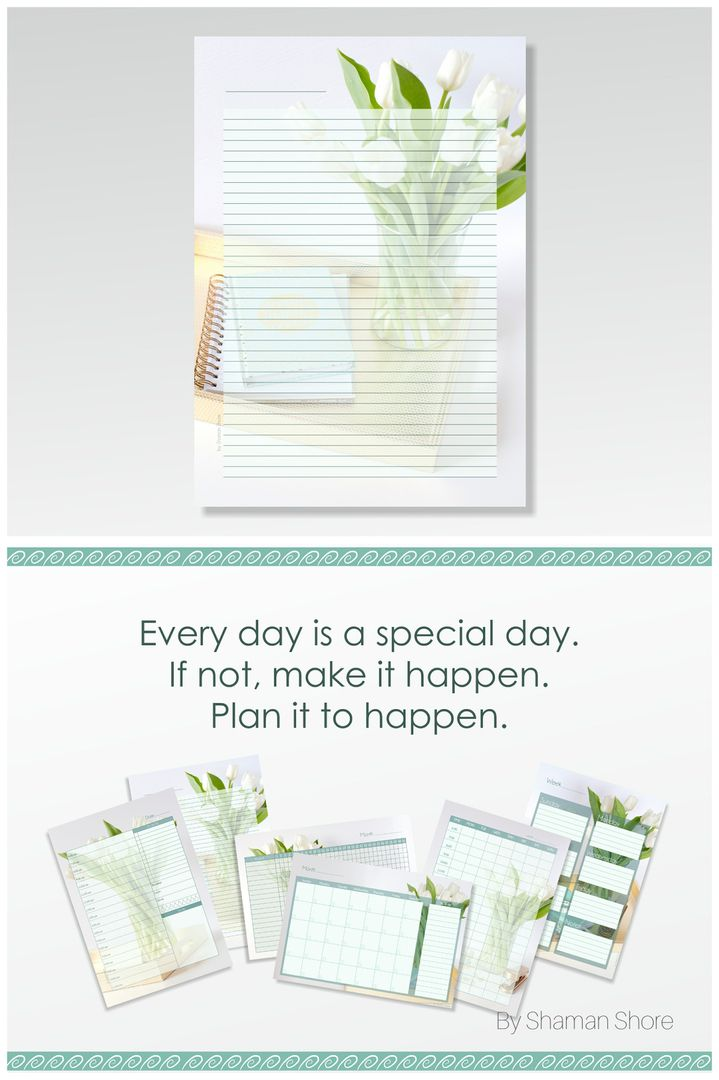Lined Diary Pages A4, Lined Diary Paper Printable, Digital Diary - diary paper printable