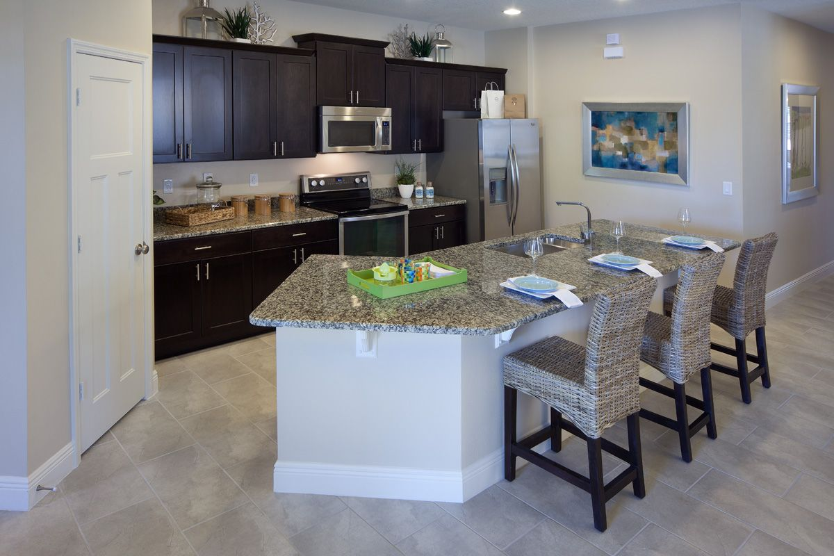 New Homes For Sale In Orlando, FL By KB Home. Maple Kitchen CabinetsKitchen  ...