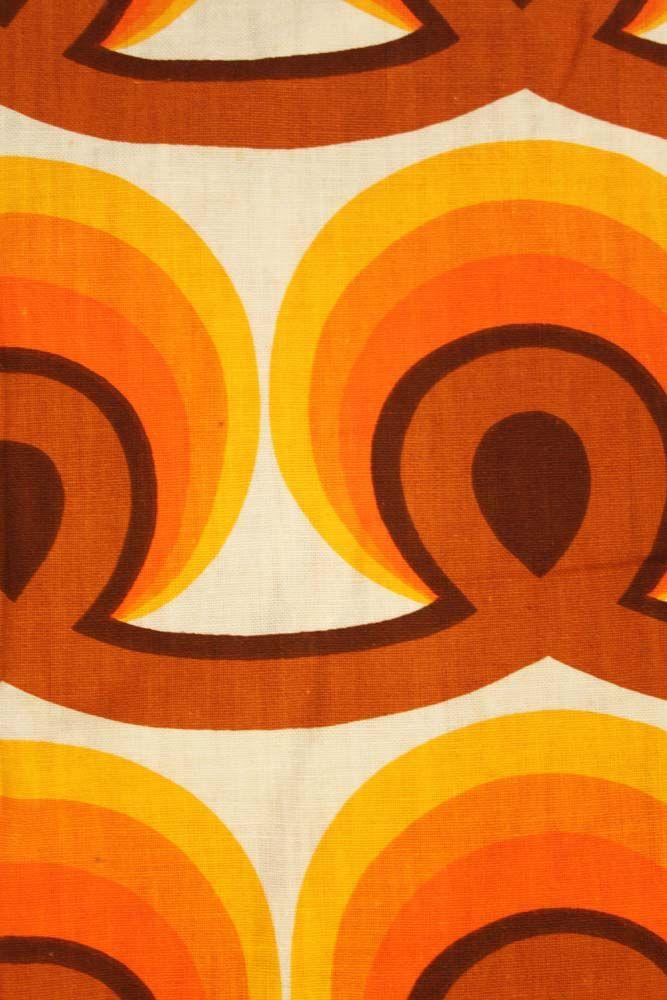 jouw interieur in 70s stijl net dit super retro gordijn toegevoegd aan de online boutique