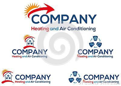 Air Conditioning Business Logo Or Icon Vector File Easy To Edit Air Conditioning Business Business Logo Air Conditioning Companies