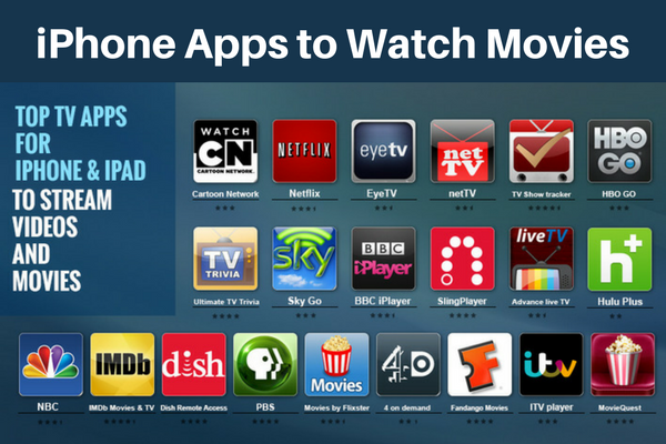 7 Best MOVIE APPS FOR IPHONE Mobile Movie app, Movies
