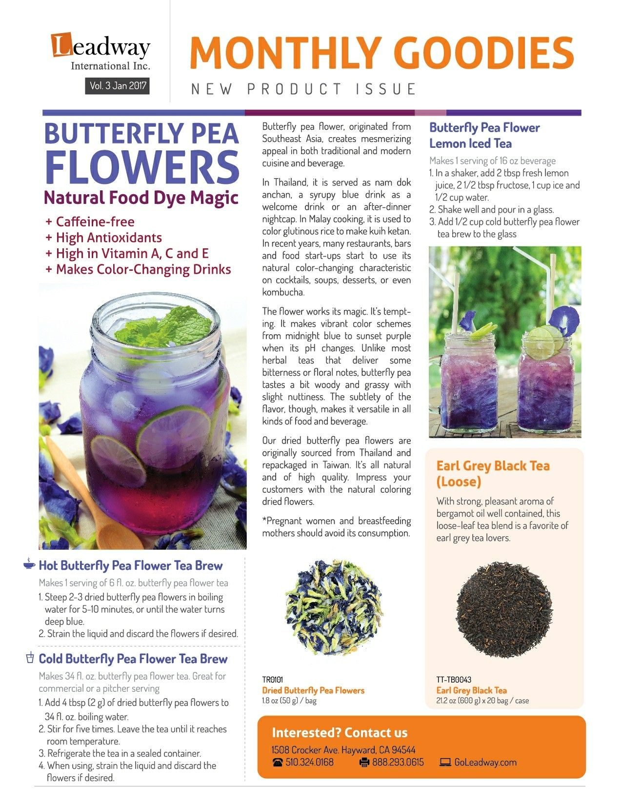 Pin by Amalia Funari on Tea Time Butterfly pea flower