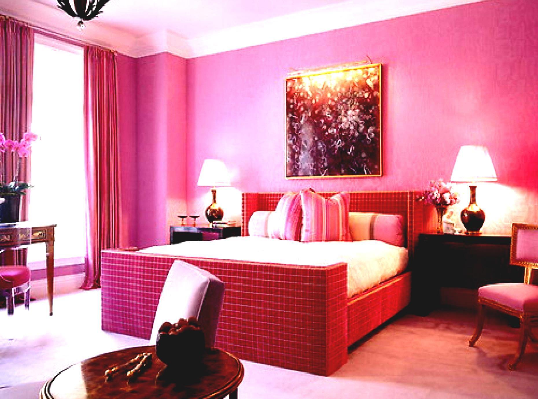 Wand Farbe Kombination Für Schlafzimmer Rosa mädchen