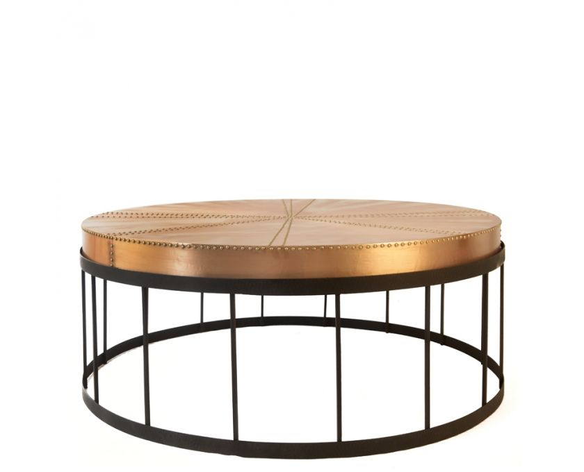 Aviator Coffee Table Copper Tables