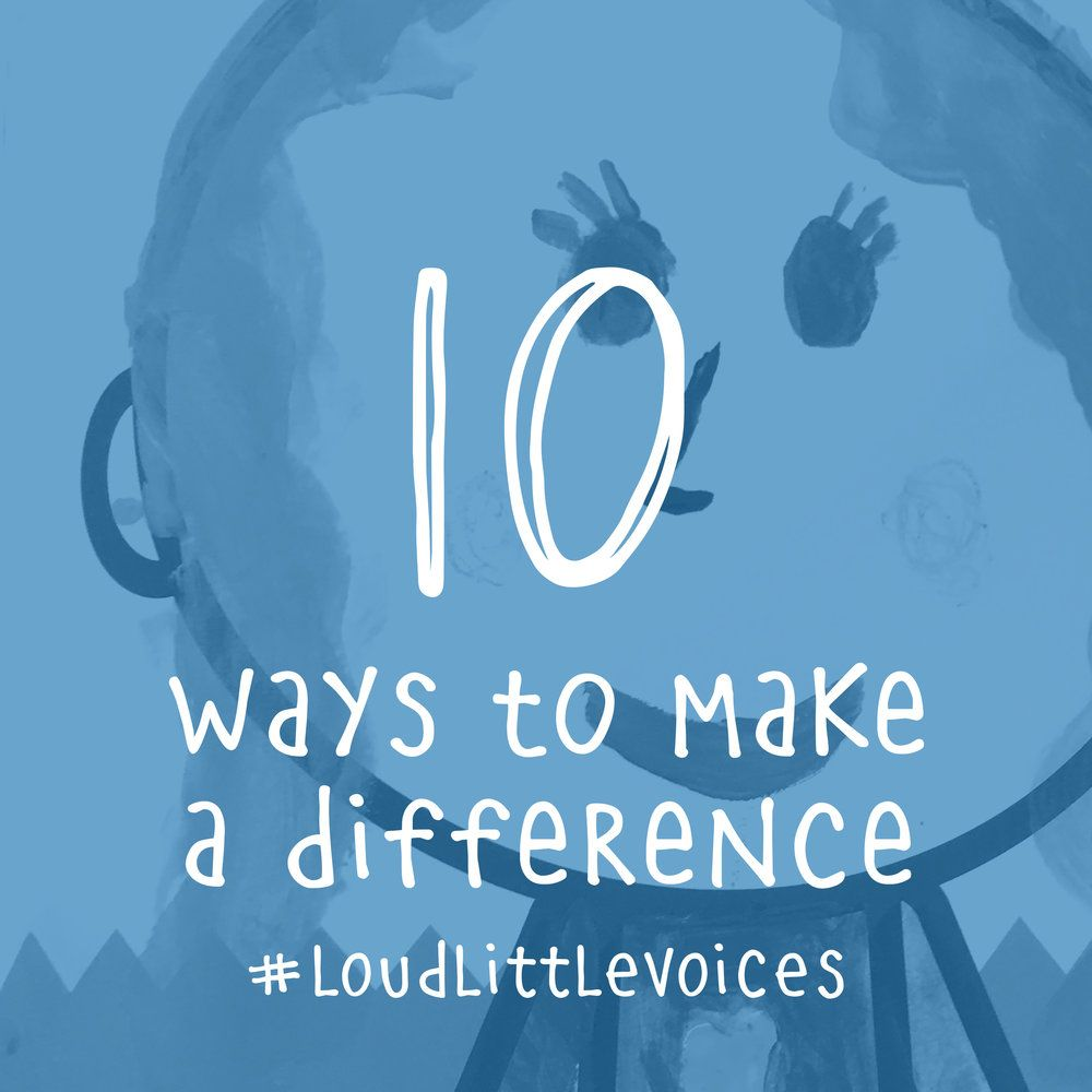 Today is Make a Difference Dayand we challenge you to be a changemaker in  your own community!