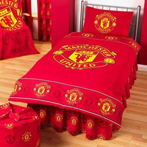 Man U Bedding Quilt Cover Sheets The Unit Manchester United Manchester United Merchandise