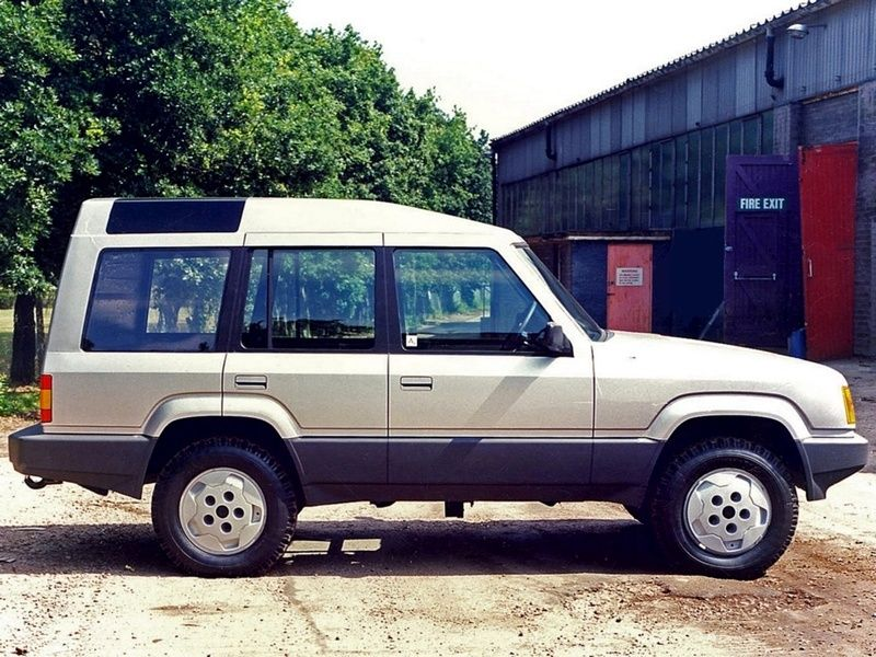 Og 1989 Land Rover Discovery Mk1 Project Jay Full Size Mock Up Dated 1986