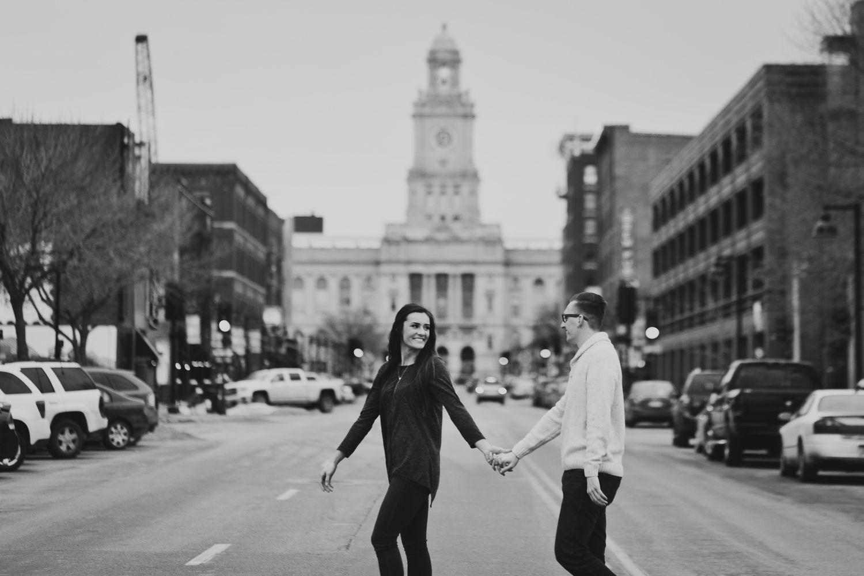 Carr and Allyson | Des Moines Engagement — kjoy photos