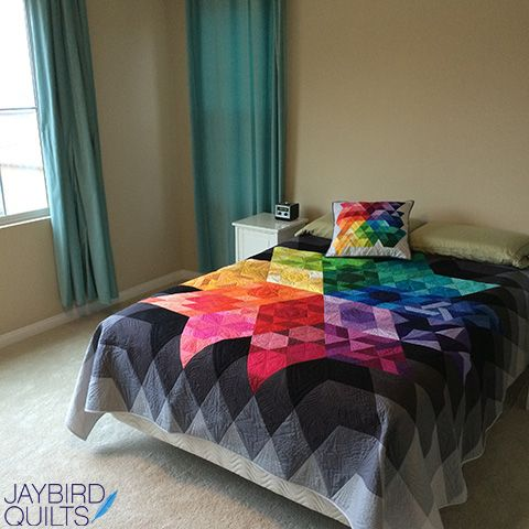 Gravity Quilt | Jaybird Quilts Make this gorgeous BOM quilt with ... : quilt shops in ri - Adamdwight.com